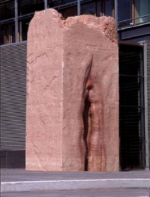 fittan skulptur